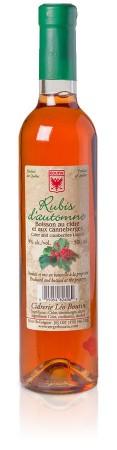 Cidre canneberges Rubis d'Automne